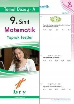 9.Sınıf Matematik Yaprak Test Temel Düzey A.