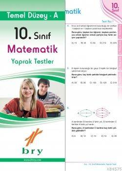 10.Sınıf Matematik Yaprak Test Temel Düzey A