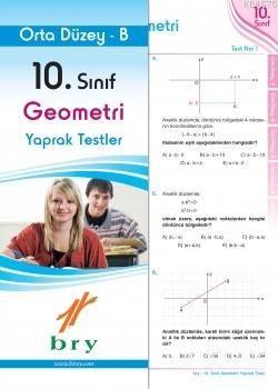 10.Sınıf Geometri Yaprak Test Orta Düzey B