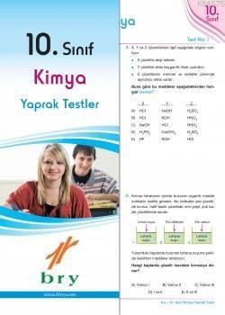10.Sınıf Kimya Yaprak Test