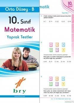 10.Sınıf Matematik Yaprak Test Orta Düzey B