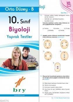10.Sınıf Biyoloji Yaprak Test Orta Düzey B