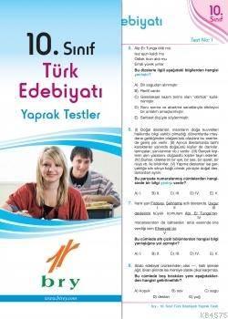 10.Sınıf Türk Edebiyatı Yaprak Test