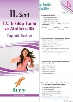11.Sınıf Tc İnkılap Tarihi Ve Atatürkçülük Yaprak Test .