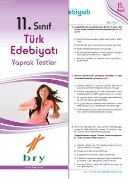 11.Sınıf Türk Edebiyatı Yaprak Test .