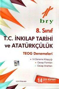 8.Sınıf T.C İnkılap Tarihi Ve Atatürkçülük Teog Denemeleri