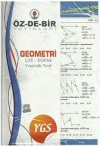 Özdebir YGS Geometri Çek Kopar Yaprak Test