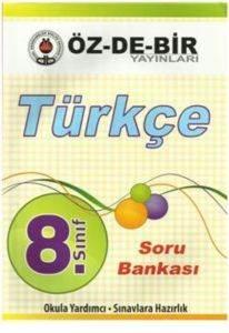 Özdebir 8 Sınıf Türkçe S.B.