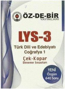 Özdebir LYS 3 Türk Dili ve Edebiyat Coğrafya 1