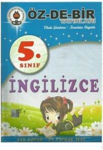 Özdebir 5 Sınıf İngilizce Çek Kopar Yaprak Test