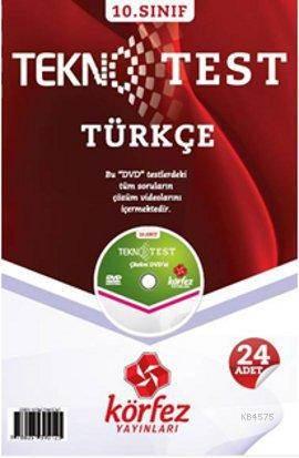 10. Sınıf Türkçe Tekno Test