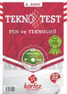 Körfez 8.Sınıf Fen Ve Teknoloji Tekno Poşet Test Çözüm (DVD'li)