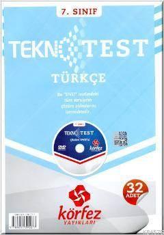 7. Sınıf Türkçe Tekno Poşet Test Çözümlü (Dvd'li)