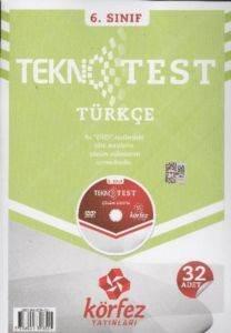 Körfez 6.Sınıf Türkçe Tekno Poşet Test Çözüm (DVD'li)