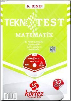 6. Sınıf Matematik Tekno 32 Test Çözüm (Dvd'li)
