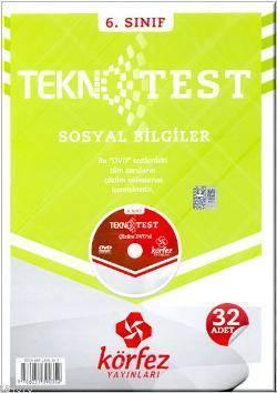 6. Sınıf Sosyal Bilgiler Tekno 32 Test Çözüm (Dvd'li)