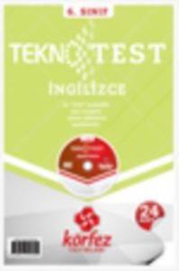 Körfez 6.Sınıf İngilizce Tekno Poşet Test Çözüm (DVD'li)