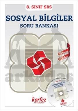 Körfez 8.Sınıf Sosyal Bilgiler Soru Bankası Çözüm (DVD'li)