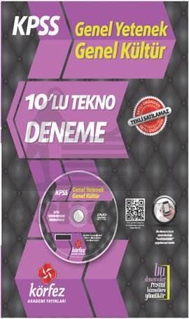 Körfez Kpss 2014 Gy- Gk Tekno Fasikül 10 Deneme Dvd' Li