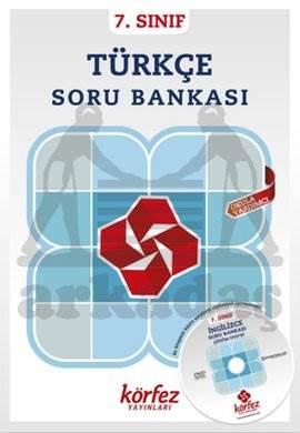 Körfez 7.Sınıf Türkçe Soru Bankası Çözüm (DVD'li)