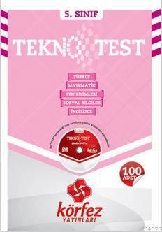 5.Sınıf Tüm Dersler Poşet Test Dvd'li
