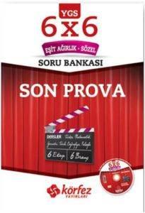 Körfez YGS 6x6 Eşit Ağırlık-Sözel Som Prova Soru Bankası Çözüm DVD'li
