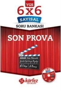 Körfez YGS 6x6 Sayısal Son Prova Soru Bankası Çözüm DVD'li
