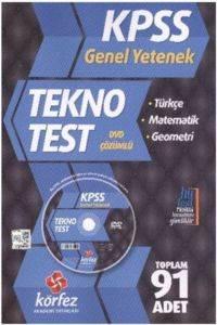 Körfez KPSS Genel Yetenek Tekno Poşet Test Çözüm Dvd'li 2014