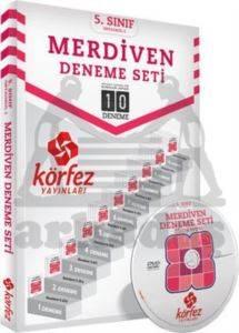 Körfez 5.Sınıf 10'lu Merdiven Fasikül Deneme Çözüm DVD'li