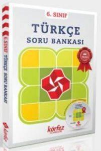 6.Sınıf Türkçe Soru Bankası Çözüm Dvd'Li