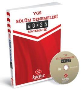 Körfez Ygs Matematik Bölüm Denemeleri 40 X 25 Çözüm Dvd'Li