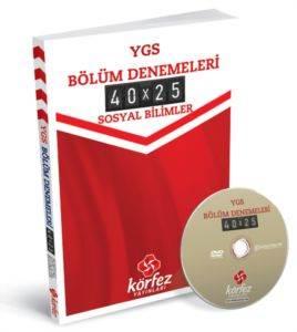 Körfez Ygs Sosyal Bilimler Bölüm Denemeleri 40 X 25 Çözüm Dvd'Li
