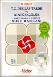 8.Sınıf Tc İnk.Tarihi Ve Atatürkçülük Yazılılara Hazırlık&Soru Bankası Çözüm Dvd'Li