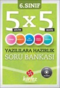Körfez 6. Sınıf 5x5 Yazılılara Hazırlık Soru Bankası