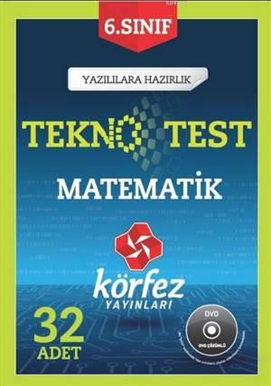 6. Sınıf Matematik 32 Adet Teknotest (Çözüm Dvd'li); Yazılılara Hazırlık