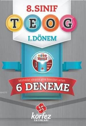 8. Sınıf TEOG 1. Dönem 6 Deneme; (1. Ve 2. Grup), Çözüm DVD'li