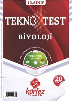 10. Sınıf Biyoloji Tekno Test; 20 Adet Yaprak Test - Çözüm Dvd'li