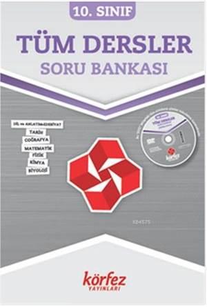 Körfez 10.Sınıf Tüm dersler Soru Bankası Çözümlü DVD' li