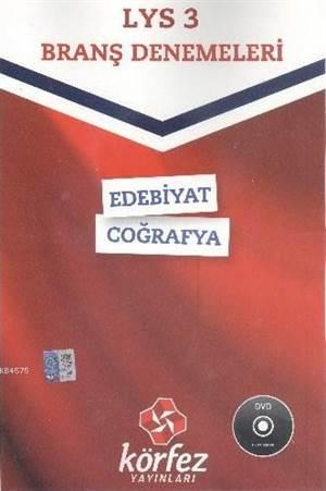 LYS 3 Branş Denemeleri Edebiyat - Coğrafya; Çözüm DVD'li