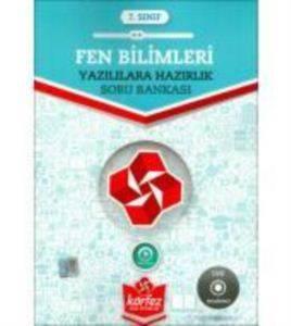 7.Sınıf Yazılılara Hazırlık Fen Bilimleri Soru Bankası Çözüm Dvd'Li (Yeni)
