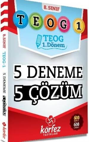 Körfez 8. Sınıf TEOG-1 5 Deneme 5 Çözüm