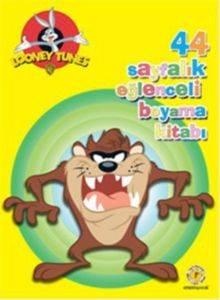 44 Sayfalık Eğlenceli Boyama Kitabı - Tazmanya Canavarı