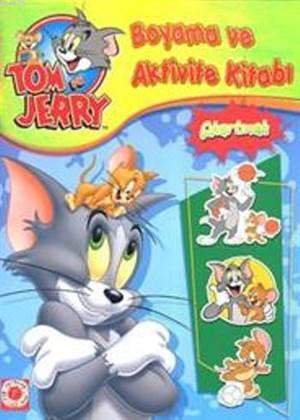 Tom ve Jerry - Boyama ve Aktivite Kitabı