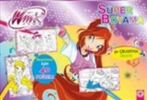 Süper Boyama 2 - 50 Çıkartma Hediye Boyamanız İçin 40 Poster