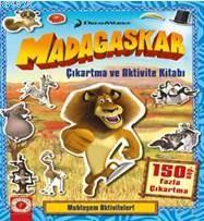 Madagaskar Çıkartma Ve Aktivite Kitabı