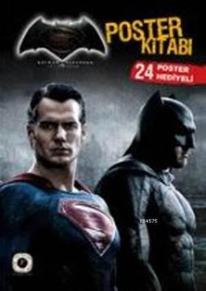 Batman Süperman Poster Kitabı