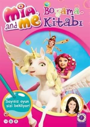Mia And Me Boyama Kitabı
