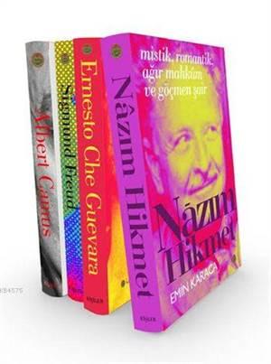 En İyi Biyografiler (4 Kitap); Nâzım Hikmet - Ernesto Che Guevara - Sigmund Freud - Albert Camus