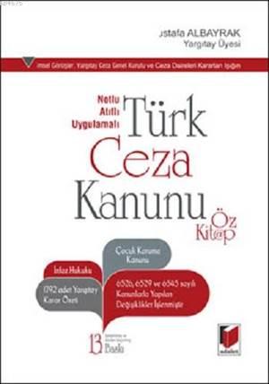 Türk Ceza Kanunu; Öz Kitap