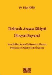 Türkiye'de Anayasa Şikayeti (Bireysel Başvuru)